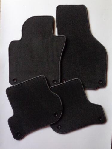 Autoteppiche Fußmatte für Skoda Octavia ll 1Z Kombi 02//2004 ovale Clips