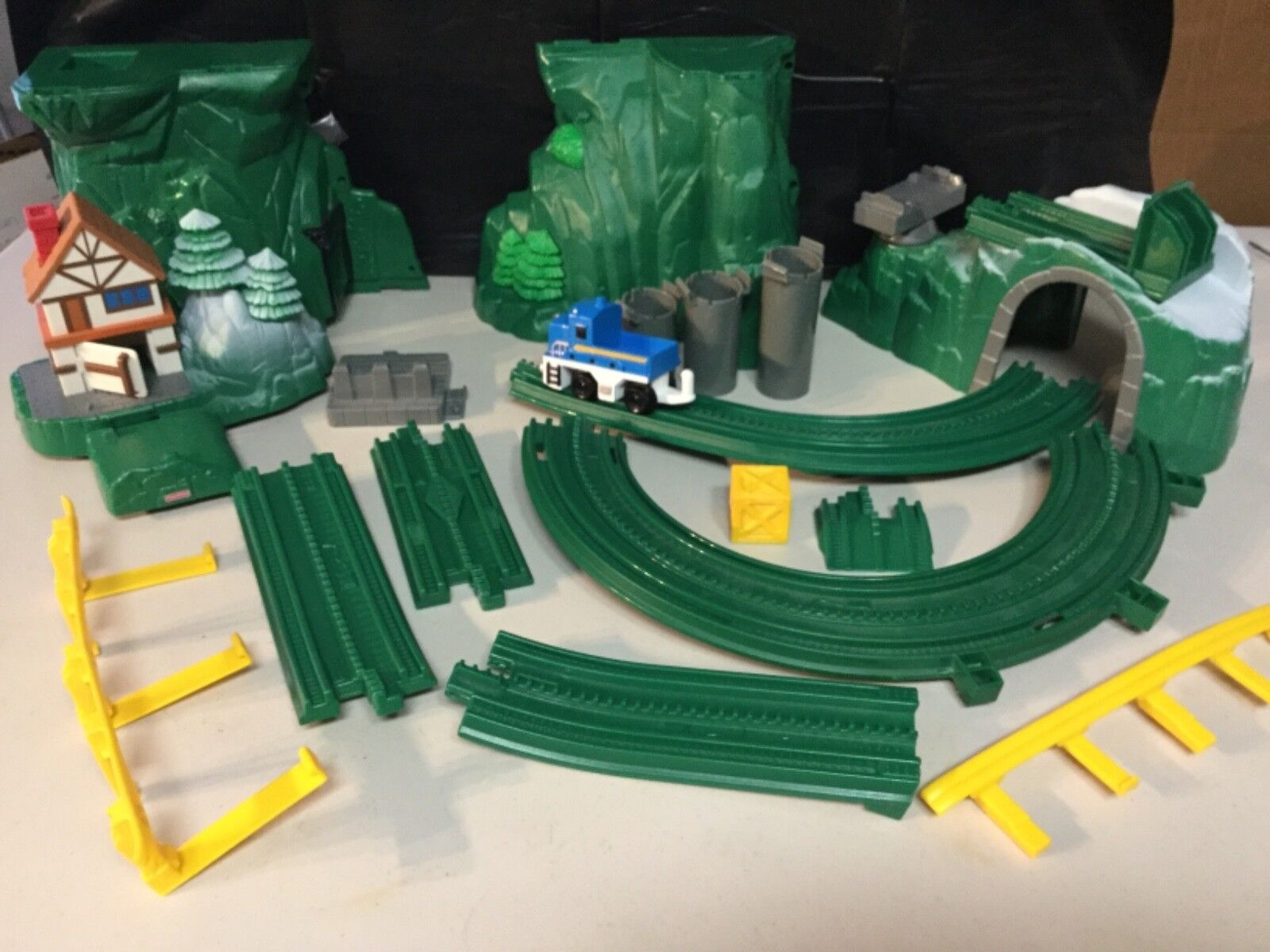 EUC GeoTrax Rail & Road System C6994 Mile High Mountain100% COMPLETE