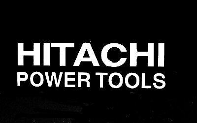 Hitachi Power Tools Logo Vinyl Decal Sticker Car Truck Tool Box 75144z