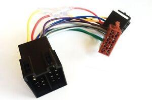 Autoradio-Adapter-drehbar-Verlaengerung-Kabel-ISO-Stecker-Strom-Lautsprecher