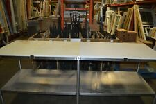 Poly Top Stainless Steel Work Table