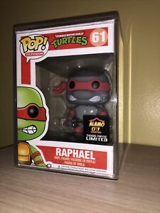 Tmnt-Raphael-Alamo-City-2000-Pieces-Limited-Funko-Pop-Mint-Free-Shipping