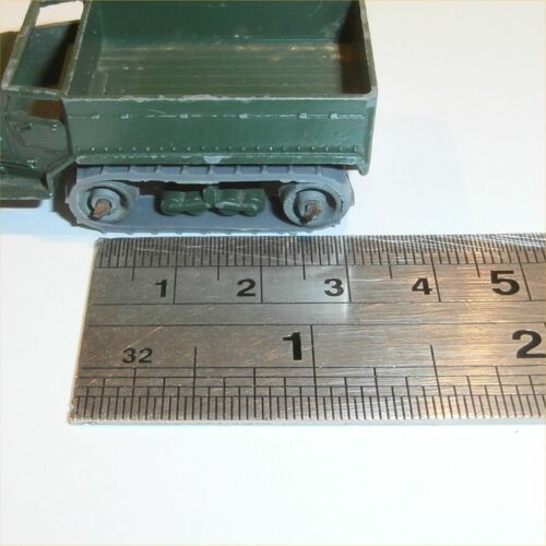 Matchbox Lesney 49 a M3 Military Carrier Army Halftrack Grey Tracks Treads