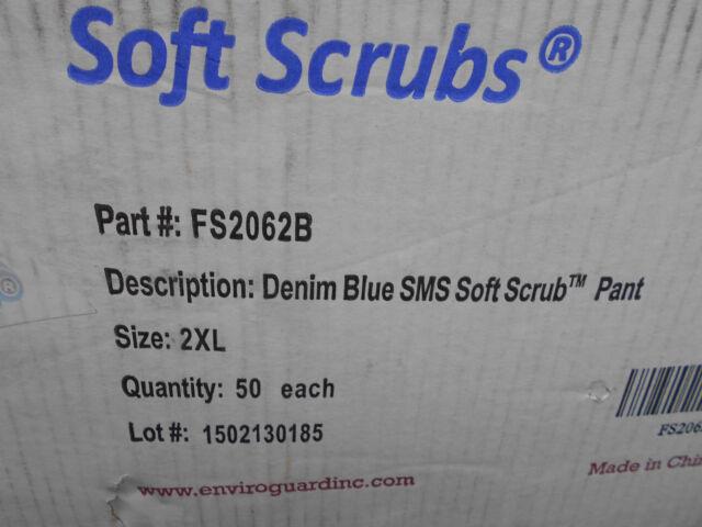 d4d4a7057e8 International EnviroGuard FS20662B Soft Scrubs Pant 2xl 50/bx   eBay