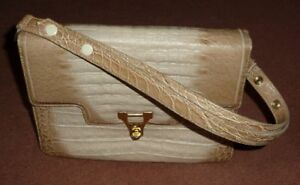 Vintage Borsa Handbag Leather Uromas Ricke Modello 100m vZ1n6fzx