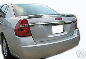 2004-2007 Chevy Malibu Painted Rear Spoiler Wing 07
