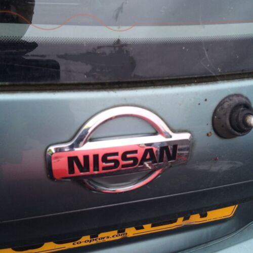 Nissan Almera Tino Rear Tailgate Boot Badge