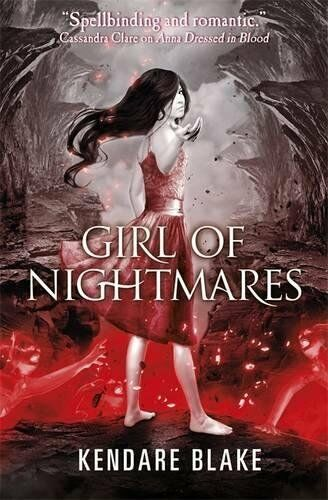 1 of 1 - Girl of Nightmares by Blake, Kendare 1408326124 The Cheap Fast Free Post