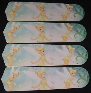 New tinkerbell princess fairy green ceiling fan 42 aloadofball Choice Image