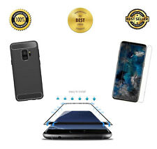 Galaxy S9 Plus Case YOUMAKER Kickstand With Built-in Screen Protector Cover
