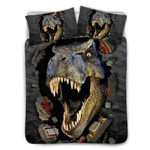 Dinosaur Brown Bedding Set Coverlet Comforter Soft Kids ...