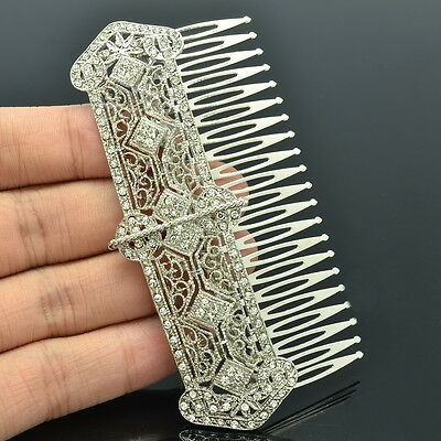 Austrians Crystals Palace Women Hair Comb Bridal Wedding Hair Accessories XBY086