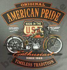 T-Shirt Nr.264 Gr.S-M-L-XL-2XL schwarz Biker Hot Rod PinUp Rockabilly V8
