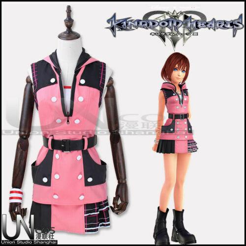 Kingdom Hearts III Kairi Cosplay Costume Customize