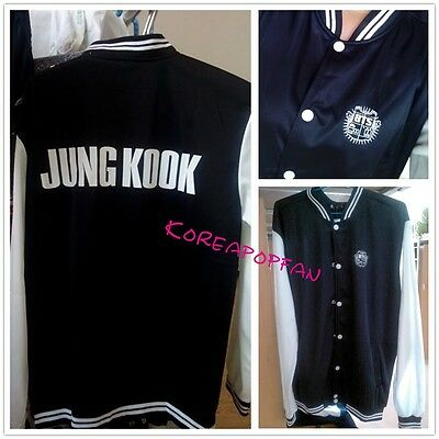 Bangtan Boys Kpop BTS jung kook jimin j-hope v jin unisex Jacket cotton coat New
