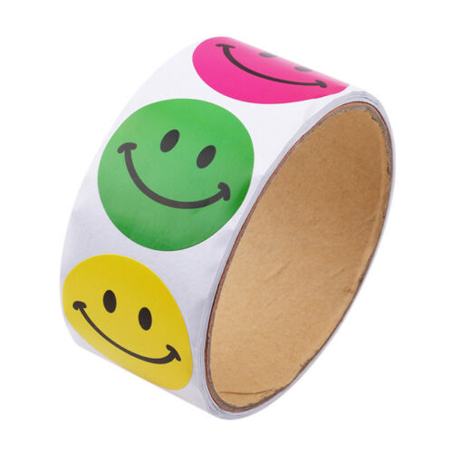 Paper Stickers Cartoon Animals Smiley Face Love Star Stickers For Kids Child MA