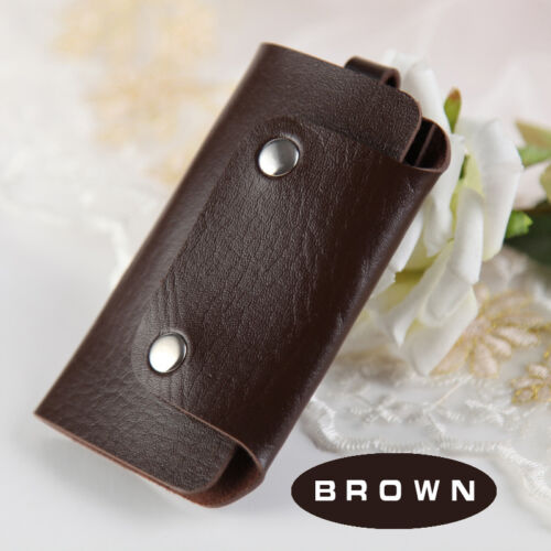 PU Leather Key Chain Pouch Bag Wallet Case Key Holder