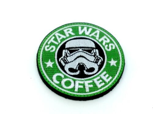 Star Wars Coffee Embroidered Airsoft Cosplay Patch