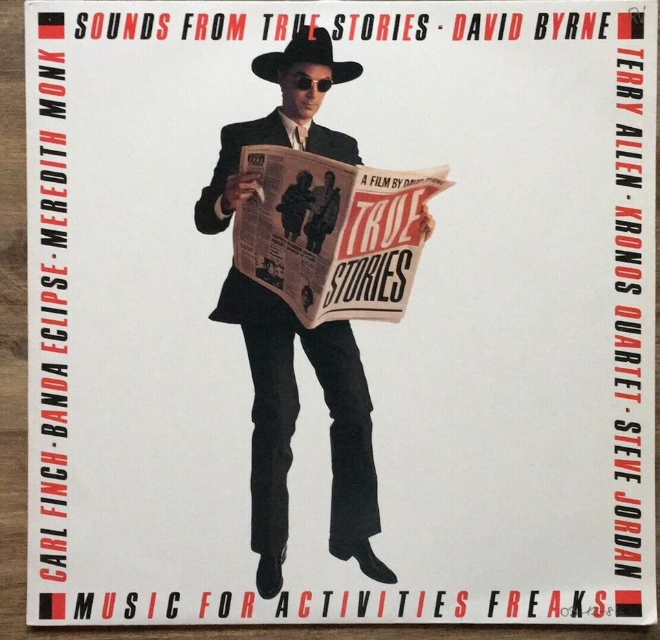 LP, David Byrne (Talking Heads), Sounds From True Stories