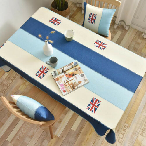 Printed Rectangle Square Tablecloth Table Cloth Cover Dinner Tea Table Decor New