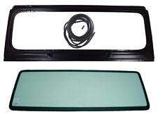 New Windshield Frame & Glass w/3 Pcs. Seal Kit, For Jeep Wrangler YJ, 1987-1995