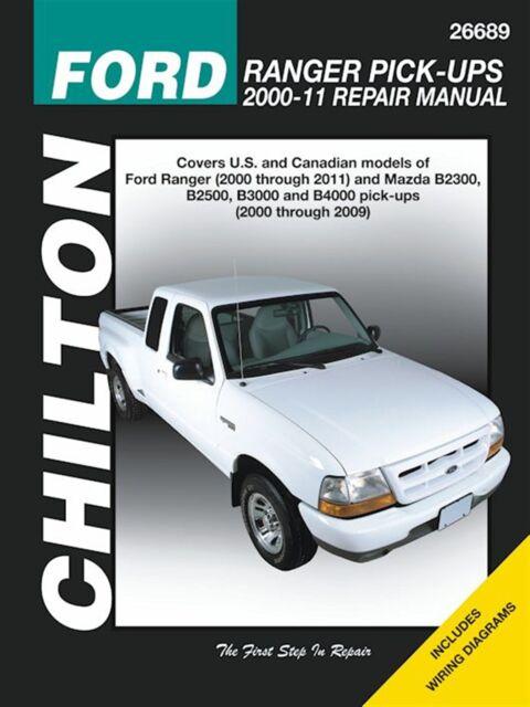 2002 Mazda B2300 B3000 B4000 B Series Truck Shop Service