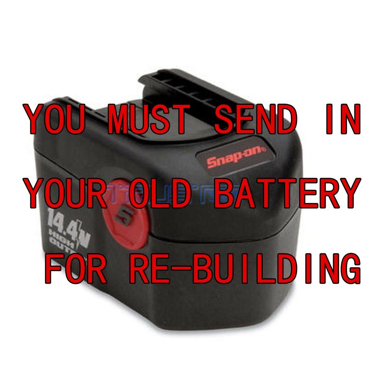 We Rebuild All 14.4 For Snap-On batteries 3.0AH NIMH CTB4147 CTB4145