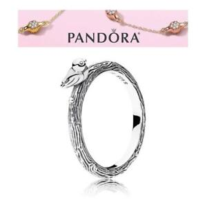 bee533c72 Image is loading Pandora-Silver-Spring-Bird-Ring-S925-ALE