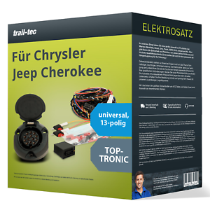 Elektrosatz 13-pol universell für CHRYSLER Jeep Cherokee 09.2001-04.2008 NEU