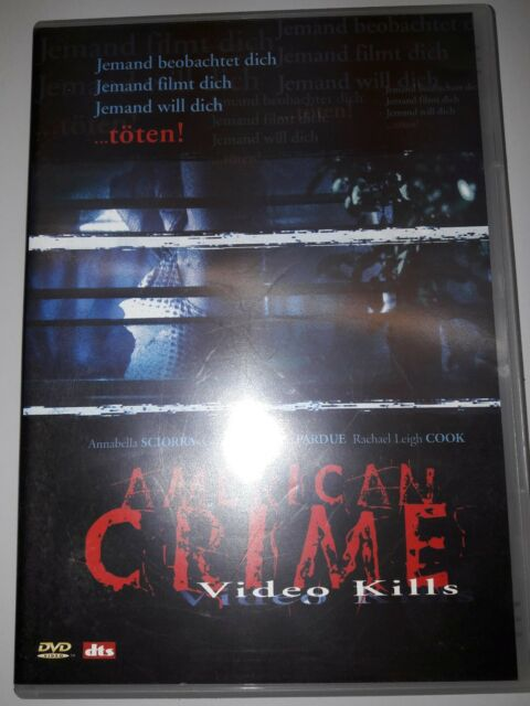 American Crime - Video Kills (2006) DVD