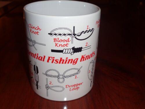 Norfolk China Ceramic Mug ESSENTIAL FISHING KNOTS