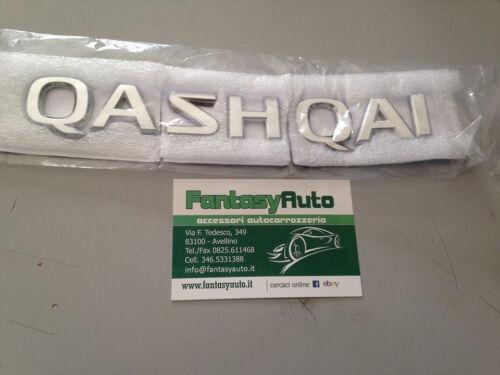 Nissan Qashqai J10 Fregio Sigla Emblema Posteriore  EMBLEM BADGE