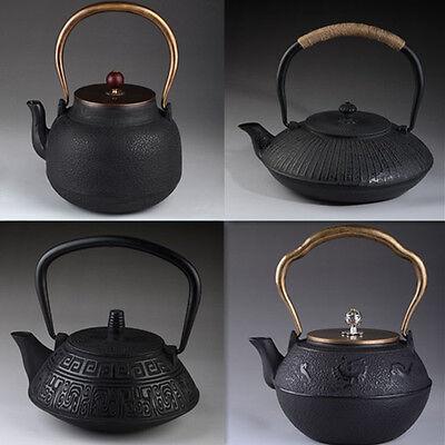 Tetsubin Japanese Style Cast Iron Kettle Tea Pot With Strainer
