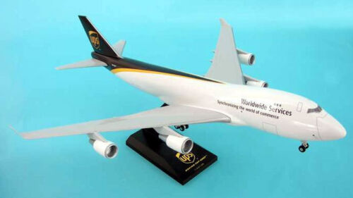 Ups boeing 747-400 1:200 skymarks skr484 avión modelo nuevo b747 cargo
