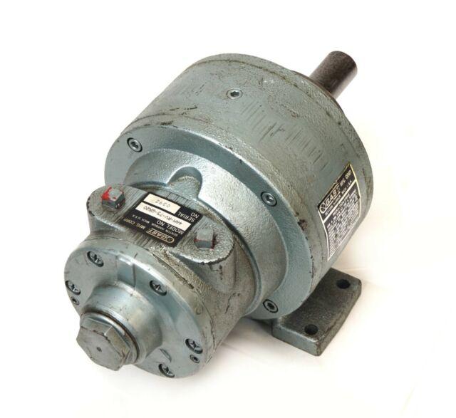 """Gast Mfg Model 4AM-RV-75-GR20 Air Gear Motor 1"""" Output Shaft, 1.26 HP, 300 RPM"""