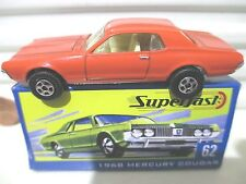 Matchbox 2004 Hershey Toy Show Dealer #62 1968 Mercury Cougar Car 300 Made NuBxd