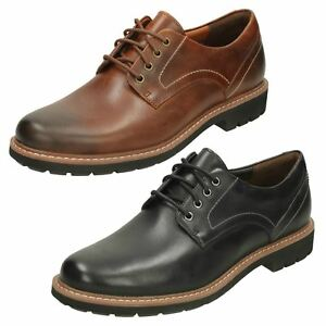 Mens Clarks Batcombe Hall Leather Smart Casual Lace Up
