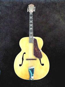 Pickguard-For-Vintage-Large-Body-Archtop-Guitar-Bevel-Original-Art-Deco-Style
