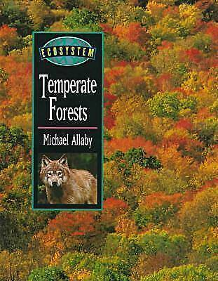 Temperate Forests by Allaby, Michael-ExLibrary