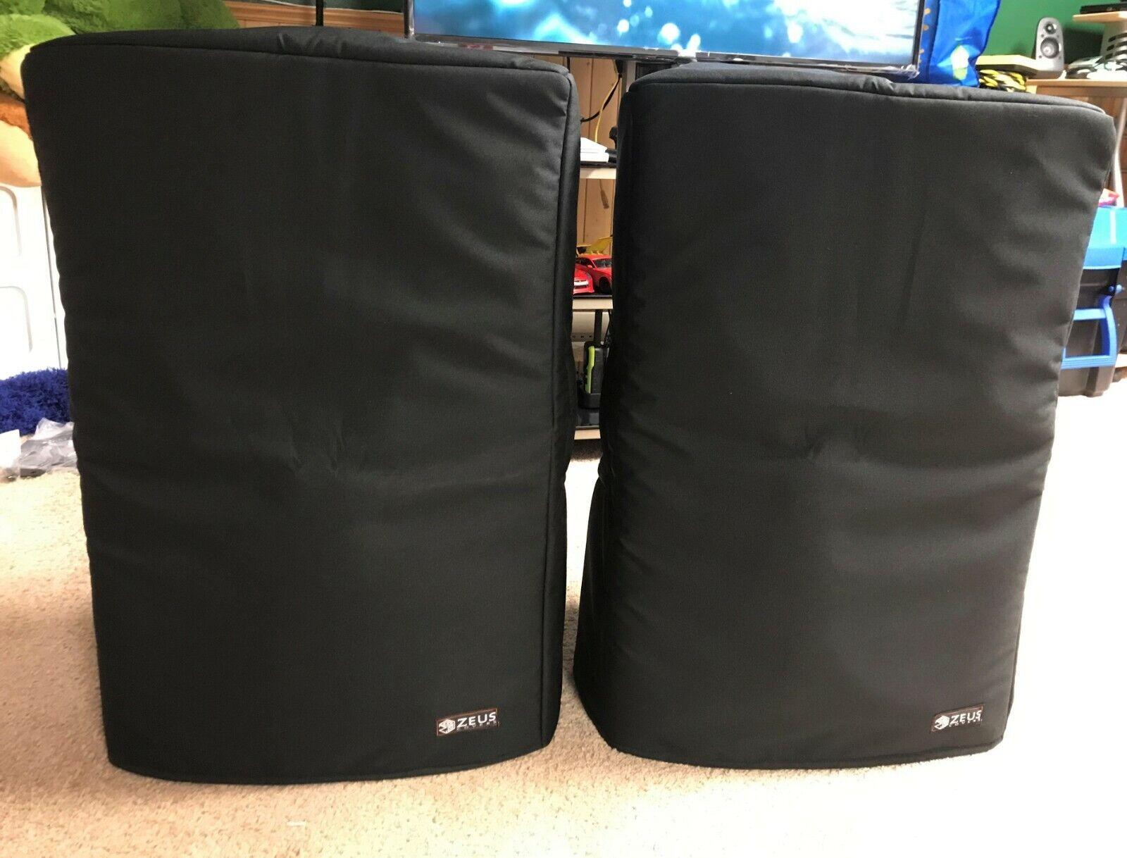 Yorkville NX55p Padded Speaker Slip Covers (PAIR)