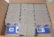 1000 CARTONS ETUIS POUR MONNAIES A AGRAFER  DIAMETRE 32,5 - HARTBERGER