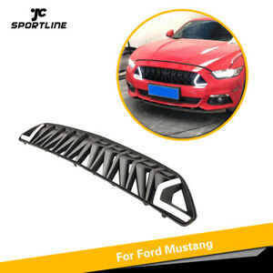 Details about Front Bumper Grille Grill White LED DRL Light For Ford  Mustang 15-17 Armor Style
