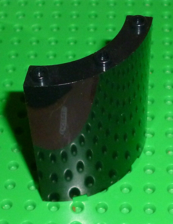 Lego-Cilindro, Cilindro trimestre de 4 X 4 X 6, Negro X 1 (30562) F40