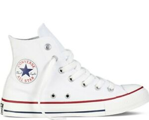 2019-Converse-All-Star-Hi-Size-UK-7-5-EUR-41-Optical-White-Canvas