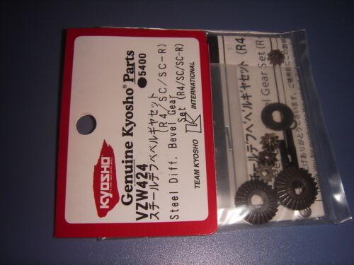 VZW424 Kyosho Steel Diff Bevel Gear Set//VoneR4//SC//SC-R