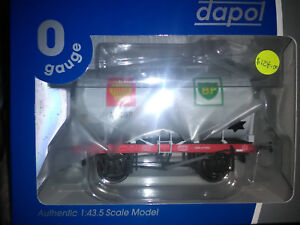 Dapol-14T-Tank-Wagon-Class-A-Shell-BP-Silver-A7498-O-gauge-ref-7F-058-002-BNIB