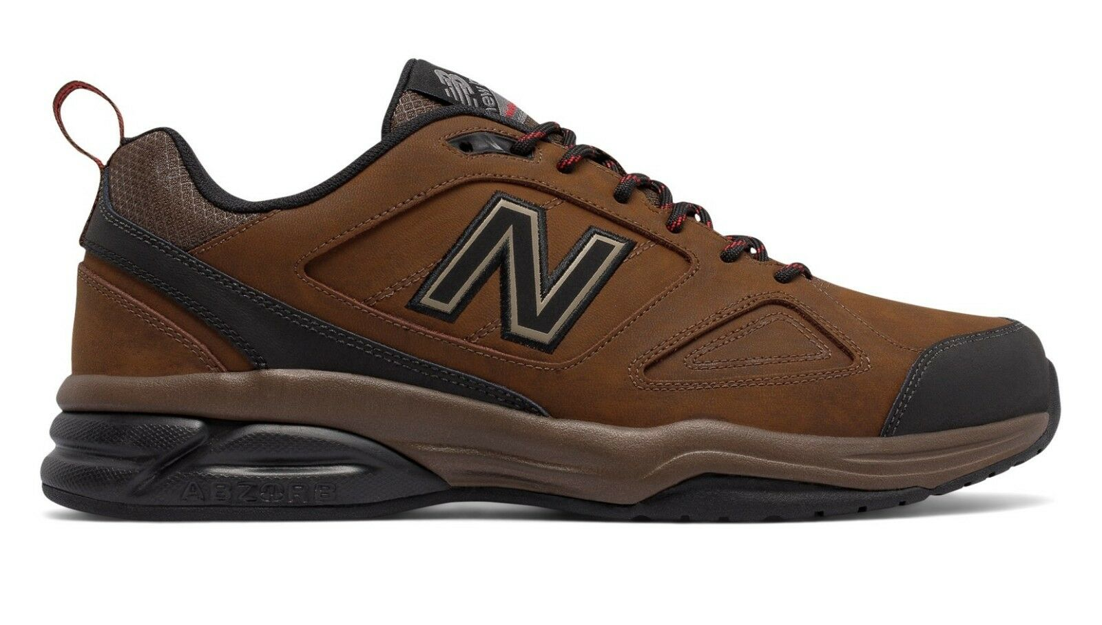 New Balance MX623LT3 Men's 623v3 Brown Leather Trainer Cushioned Training shoes