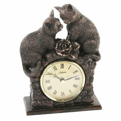 Floor Clock Hand Sculpture Mantel Clock Desk Clock Bronze Colours