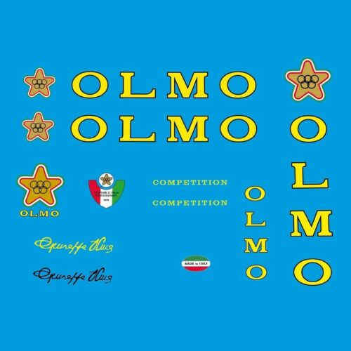 Decals  n.805 Olmo Bicycle Frame Stickers