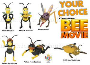 MIP-McDonald-039-s-2007-BEE-MOVIE-Jerry-Seinfeld-INSECT-Bug-Wind-Up-CHOOSE-YOUR-TOY